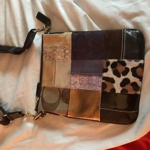 new Coach funky shoulder bag/could be cross body?